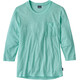 Patagonia Mainstay 3/4 Sleeved Top Women Bend Blue